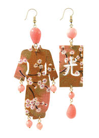 large-faceted-pink-silk-kimono-earrings